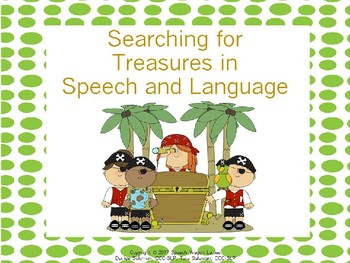 Pirate Themed Decor: Searching for Treasures in Speech and Language Therapy