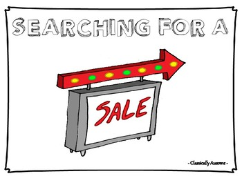 Searching for a Sale