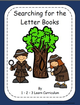 Searching for the Letter Mini Books