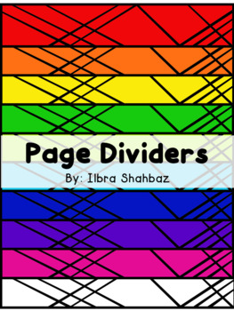 Page Dividers: Searchlights
