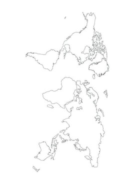 Seas of the World Mapping Worksheet