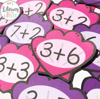 Seashell Addition Freebie {with sums up to ten}