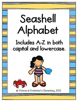 Seashell Alphabet! Letter and Sound Recognition Game