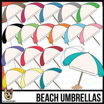 Beach Umbrella Clip Art