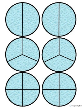 """""""Seashell"""" Fraction Circles for Autism"""