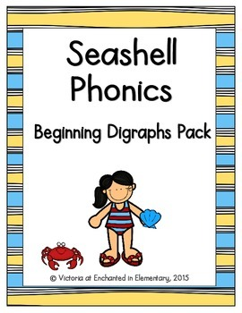 Seashell Phonics: Beginning Digraphs Pack