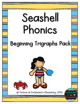 Seashell Phonics: Beginning Trigraphs Pack