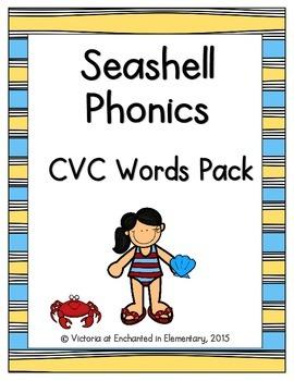 Seashell Phonics: CVC Words Pack