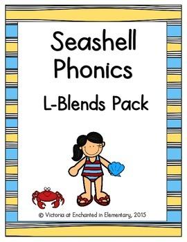 Seashell Phonics: L-Blends Pack