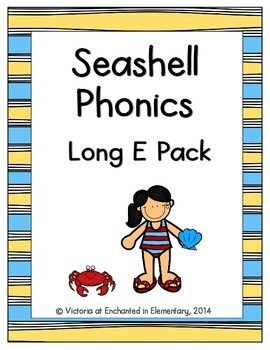 Seashell Phonics: Long E Pack