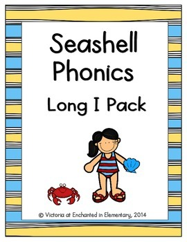 Seashell Phonics: Long I Pack