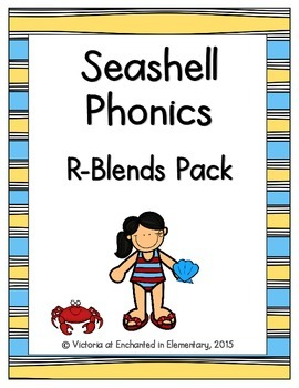 Seashell Phonics: R-Blends Pack