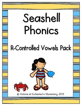 Seashell Phonics: R-Controlled Vowel Words Pack