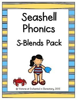 Seashell Phonics: S-Blends Pack
