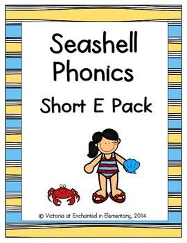 Seashell Phonics: Short E Pack