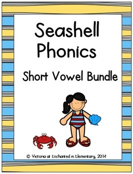 Seashell Phonics: Short Vowel Bundle
