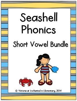Seashell Phonics: Short Vowel Bundle