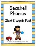 Seashell Phonics: Silent E Words Pack