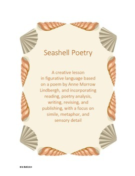 Seashell Poetry - A creative lesson in figurative language