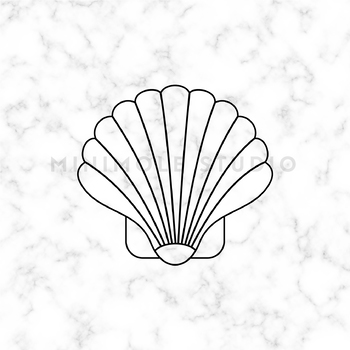 Seashell SVG PNG Clip Art Graphic