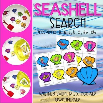 Seashell Search: Speech Articulation