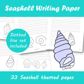 Seashell Writing Paper