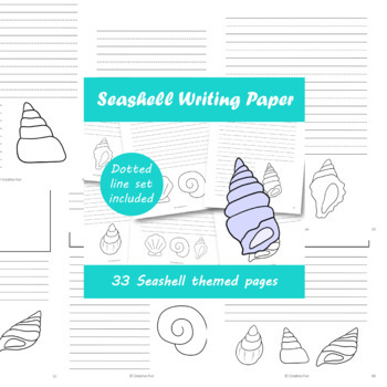 Seashell Writing Paper