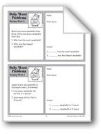 Seashells (Grade 3 Daily Word Problems-Week 8)