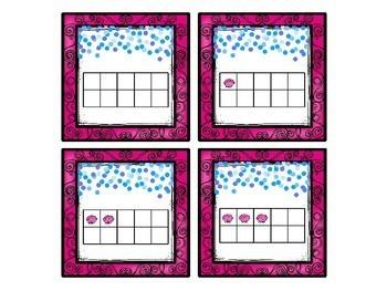 Seashells Numbers Match Up Math Center