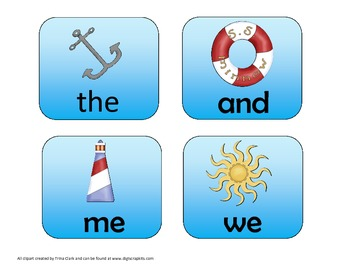 Seashore Syllables And More Kindergarten Skills Pack