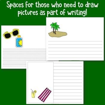 Seashore Writing Paper