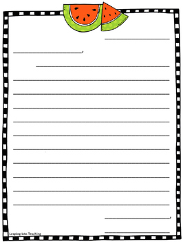 Seasonal Letter Writing Papers