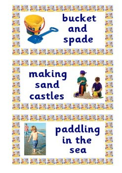 Seaside Display Labels for Roleplay