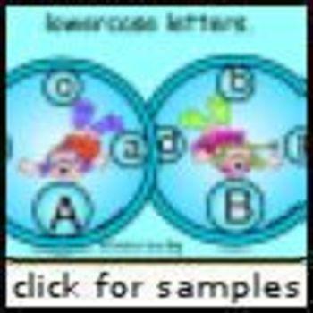 Seaside Kiddies ABC Matching (Alphabet Matching)