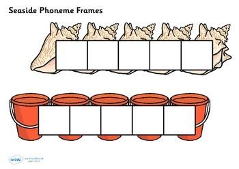 Seaside Phoneme Frames