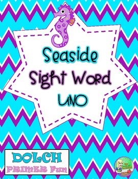 Seaside Sight Word UNO (Primer)