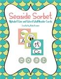 Seaside Sorbet Alphabet Line and Word Wall Header Set