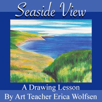 Seaside View Drawing