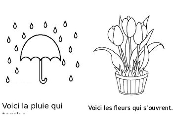 Season Book - Spring (in French)
