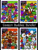 Season Buddies Bundle {Creative Clips Digital Clipart}