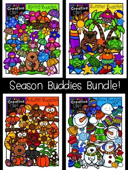 Season Buddies Bundle {Creative Clips Digital Clipart}
