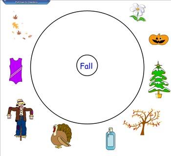 Season Circle Maps