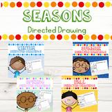 Seasons Directed Drawing and Write Bundle