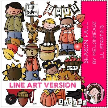 Melonheadz: Season Fall LINE ART