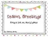 Season Greetings with long e (ea ,ee, and y)