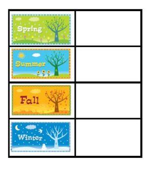 Season Partners Chart Format