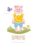 Season Posters - Fall,Winter,Spring, Summer PLUS matching