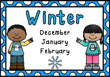 Season Posters- Northern Hemisphere