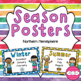 Season Posters- Northern Hemisphere