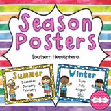 Season Posters- Southern Hemisphere